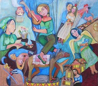 Sobre Chagall by Sandra Dooley