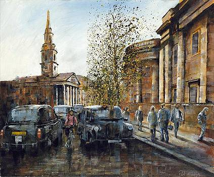 SOLD St Martin In The Fields London by Paul McIntyre