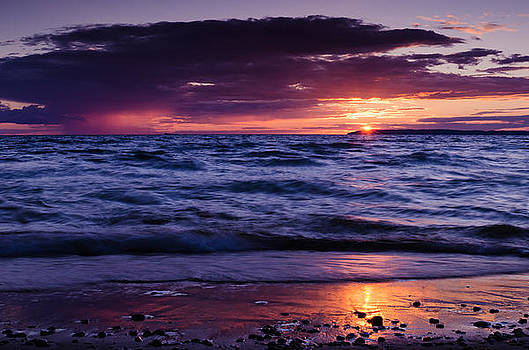 South Manitou Sunset by Thomas Pettengill