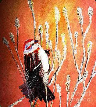 Sparrow on a Frosty Morn by Betty and Kathy Engdorf and Bosarge