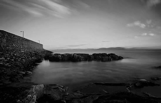 Spiddal pier by Peter Skelton