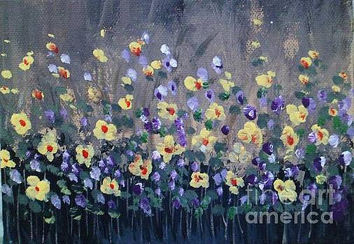 Spring Flowers 2 by Trilby Cole