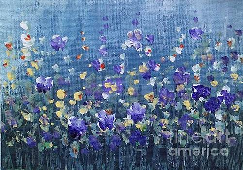Spring Flowers 4 by Trilby Cole