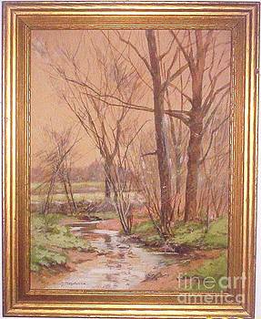 Spring Stream by William Sylvester Budworth