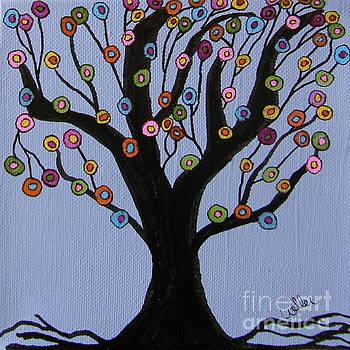 Spring Tree by Marcia Weller-Wenbert