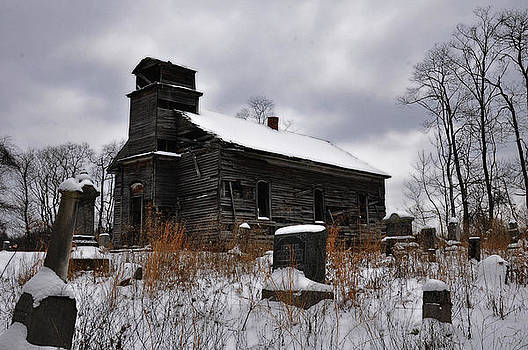 St. Johns Evangelical Church and Cemetery in Monday Creek Township by Chad Wilkins