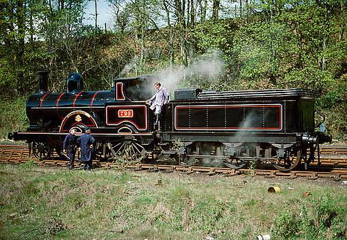 Steam Locomotive Hardwicke taking a rest in 1976 by David Davies