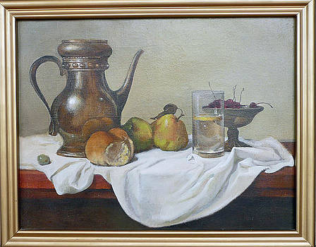Still Life with Bread by Unknown