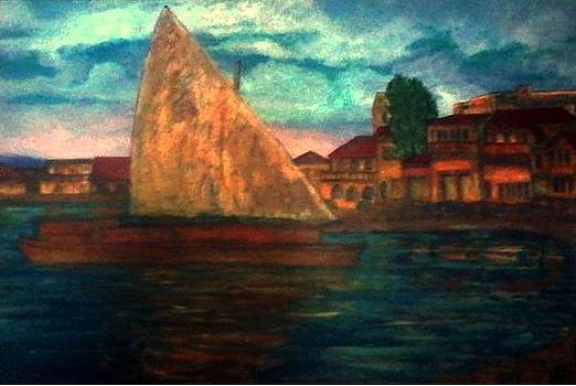 Stone City Zanzibar by Richard  Hubal