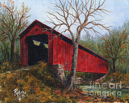 Stonelick Williams Corner Covered Bridge Clermont County Ohio 1 by Rita Miller