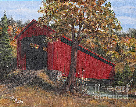 Stonelick Williams Corner Covered Bridge Clermont County Ohio 2 by Rita Miller
