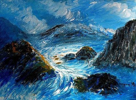 Stormy sea by Mauro Beniamino Muggianu