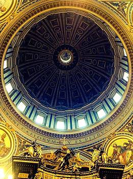 St.Peter's Basillica  by Shelley Smith