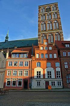 Stralsund Germany by David Davies