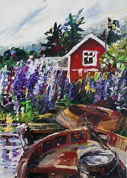 Summer In Sweden by Barbara Pommerenke