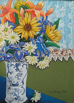 Sunflowers From Shirley by Norma Tolliver