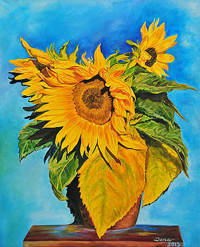 Sunflowers by Jana Goode