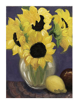 Sunflowers by Nancy Edwards