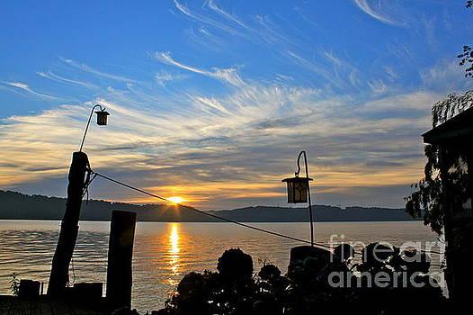 Sunrise on the Susquehanna by Jay Nodianos