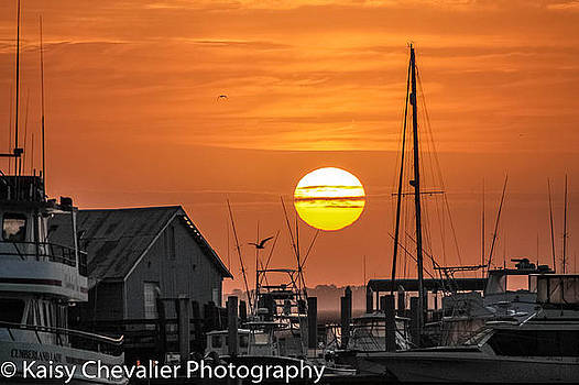 Sunrise St mary's by Kaisy Chevalier