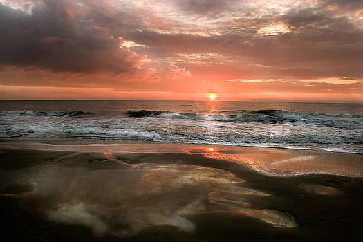 Sunrise Tybee by John Hix