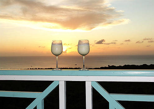 Sunset cocktails by Sharon Theron