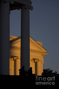 Sunset on the Capital Lawn by Debra K Roberts