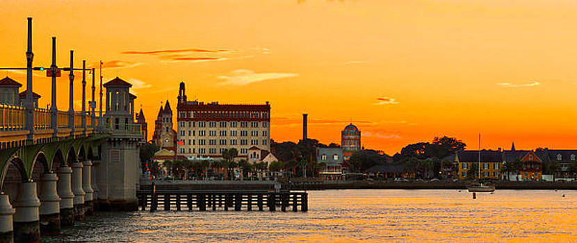 Sunset St. Augustine by Stacey Sather