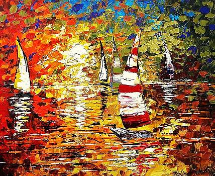 Sunshine Regatta by Jolina Anthony