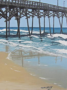 Surf City Pier by Michelle Young