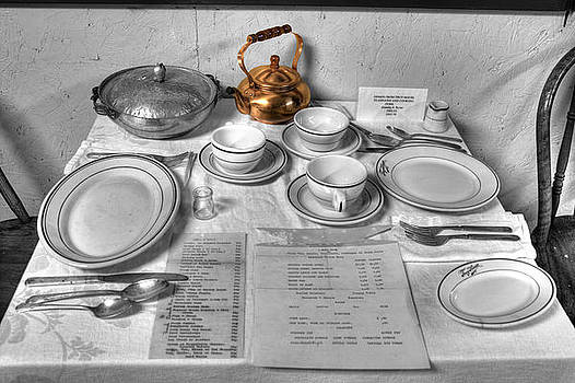 Table Set for Two by David Simons