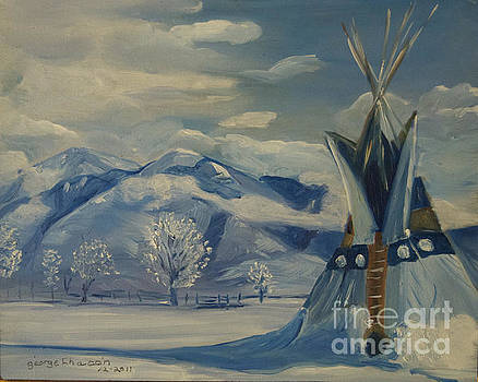 Taos Morning  by George Chacon