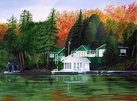 Tara's Cottage by Fay Reid