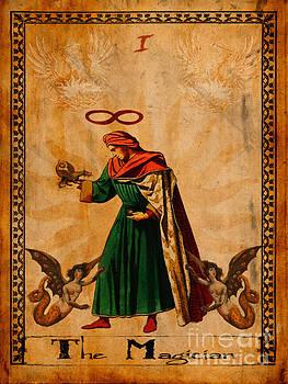 Tarot Card The Magician  by Cinema Photography