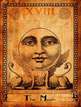 Tarot Card The Moon by Cinema Photography