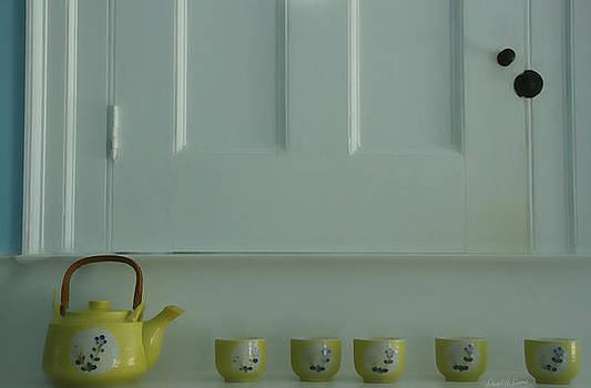 Tea Pot and Cups by David Simons
