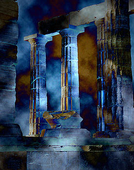 Temple of Poseidon by David Murphy