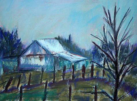 Texas Roadside 2 by Donna Crosby