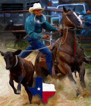 Texas Rodeo by Alonzo Butler