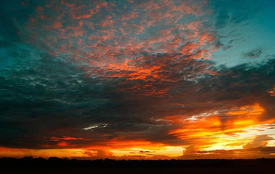 Texas Sunset by Norchel Maye Camacho