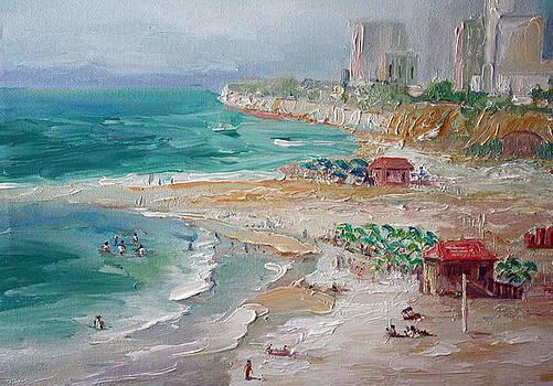 The Beach by Benjamin Johnson
