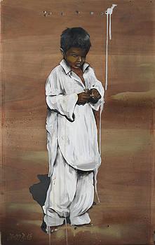 the boy and the bird I by Dingo Babusch