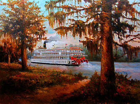 THe Delta Queen - The legendary Louisiana Steamboat by Kanayo Ede