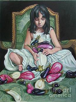 The Eggplant Princess by Shelley Laffal