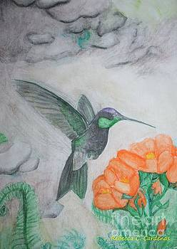 The Flight of a Hummingbird by Rebecca Christine Cardenas