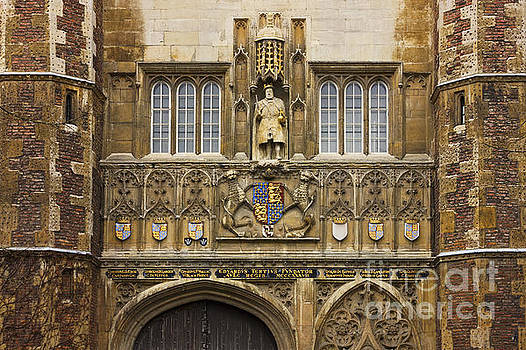 The Great Gate Entrance of Trinity College by Kiril Stanchev