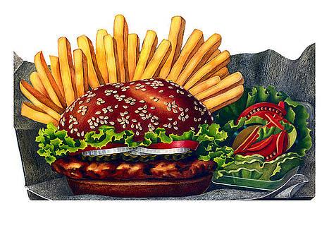 The Hamburger by Nonna Mynatt