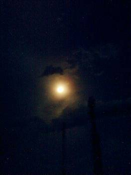 The Moon and the Clouds by Salman Ravish