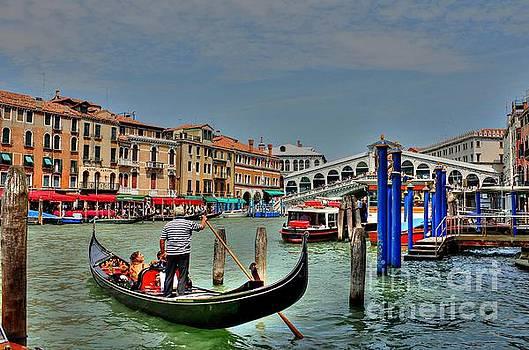 The Rialto Bridge - Venice I by Ines Bolasini