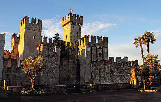 The Scaliger Castle in Sirmione by Kiril Stanchev